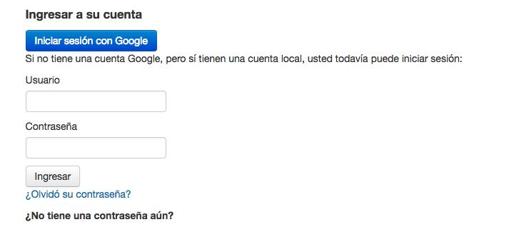 Autentificación de Koha vía Gmail